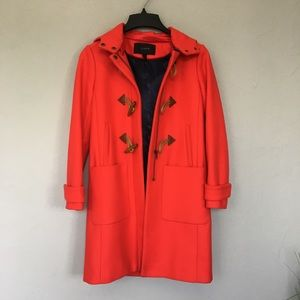 LIKE NEW: J.Crew Toggle Coat